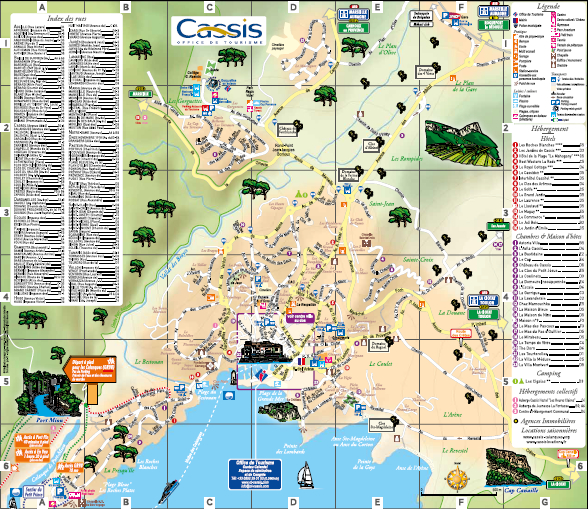 Map of Cassis 2