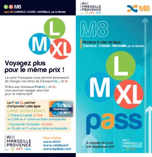 Schedules bus M8 Carnoux-Cassis-Marseille 2017