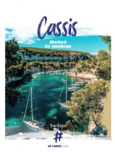 Tourist Guide - Cassis 2021-2022