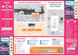 Schedules airport shuttle Marseille 2018/2019