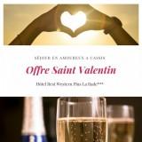 Offre Saint Valentin au Best Western Plus La Rade - Cassis Provence